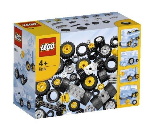 Lego 6118 ruedas