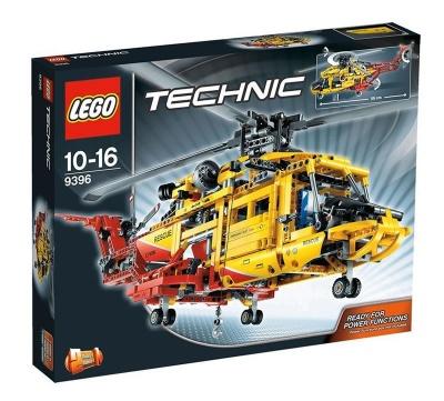 Lego Helicoptero de rescate 9396