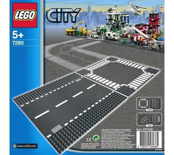 Lego city 7280 recta y cruce