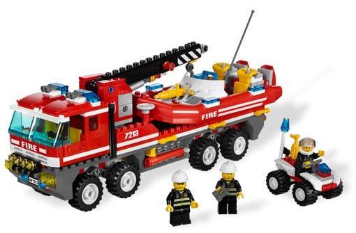 LegoCamiondeBomberosTodoterreno7213