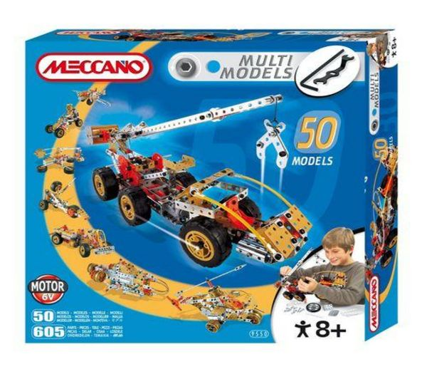 Meccano multimodels 50 modelos
