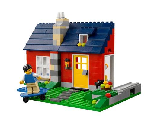 LEGO-bungalo-casa