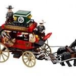 Lego Lone Ranger Huida en la diligencia