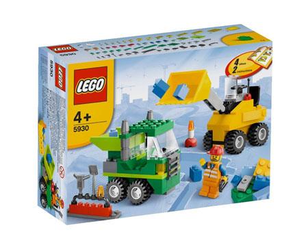 Lego 5930 Construccion carreteras