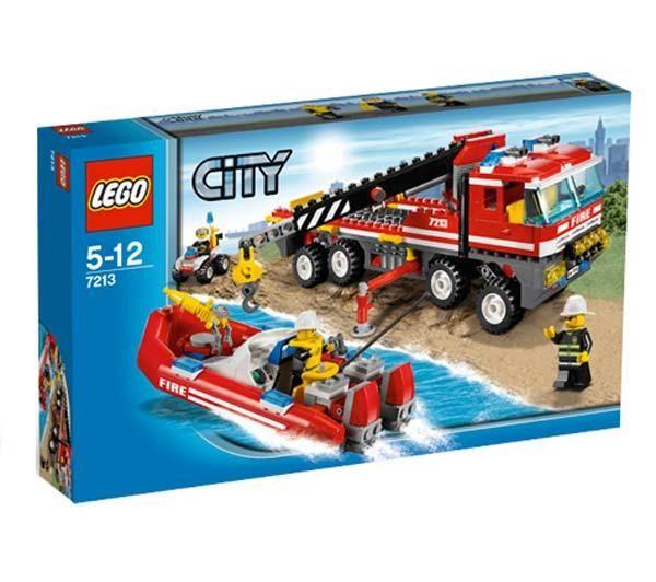 Lego Camion de Bomberos Todoterreno