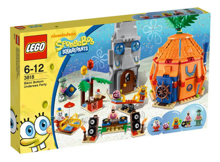Lego BOB Esponja 3818
