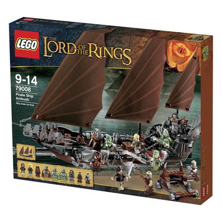 Lego 79008 emboscada en el barco pirata